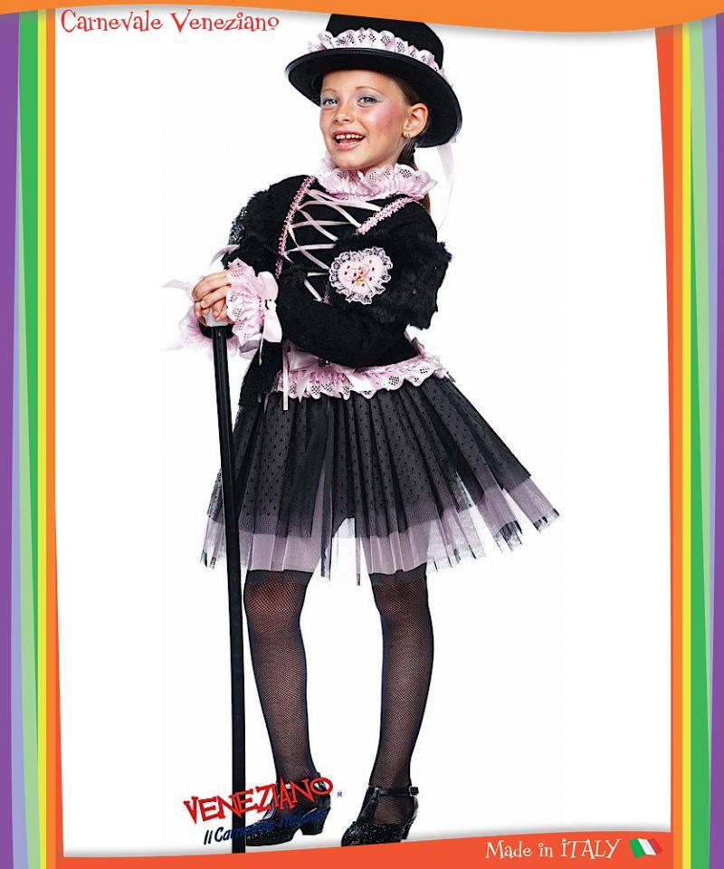 Costume di carnevale da lady casino 39 vestito per ragazza 11 12 anni travestiment ebay - Costumi da bagno per ragazze di 12 anni ...