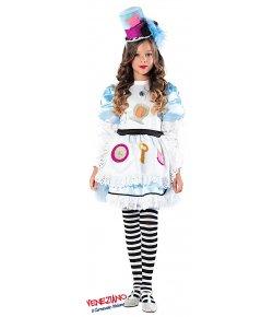 ALICE NEL PAESE DELLE FAVOLE PRESTIGE BABY. cod. 51149 Costumi Femminuccia ( 3-6 Anni) Carnevale aca1a49246c