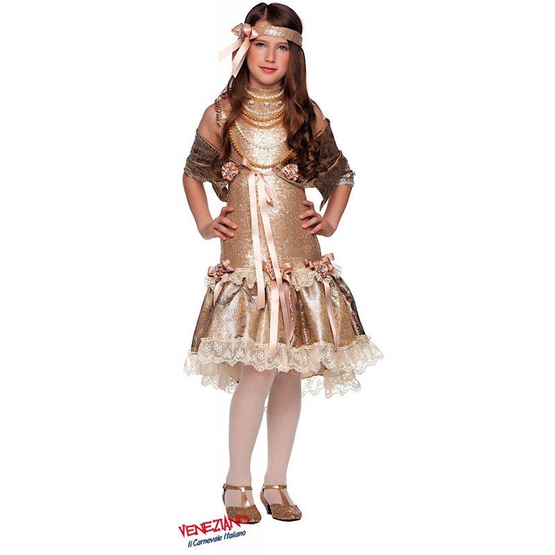 208ecee3a6a5 Costumi di Carnevale ANNI 20 49541 - CarnevaleVeneziano