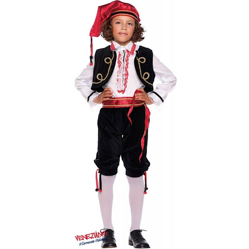 Costumi di Carnevale BALLERINO FOLKLORISTICO BABY 53164 ... 33dc0f20d07