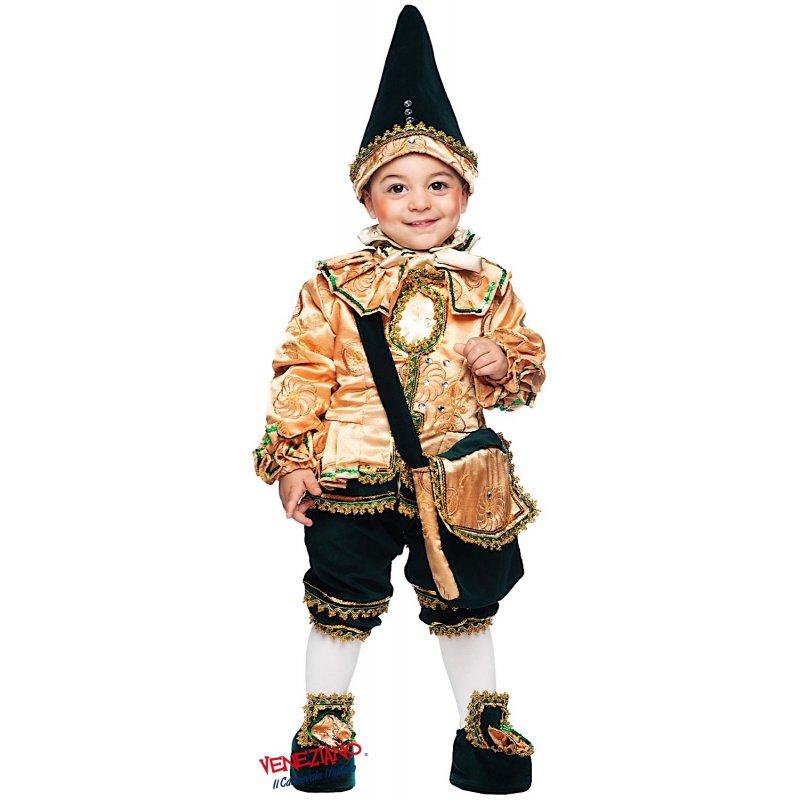 BURATTINO DI PINOCCHIO NEONATO. cod. 50738 Costumi Maschietto (0-3 Anni)  Carnevale f1185312efbe