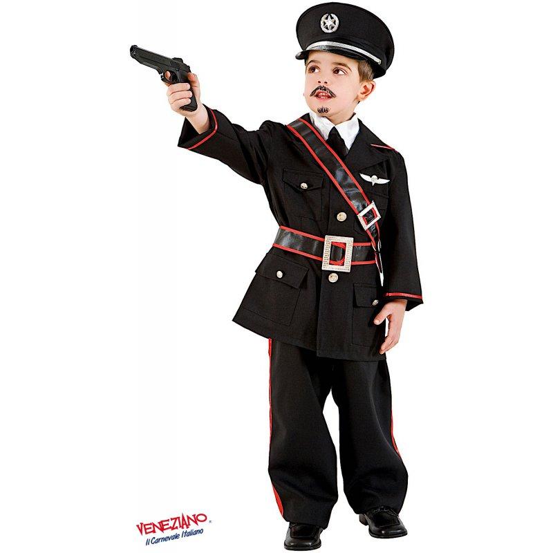 Vestito Carabiniere Bambino.Costumi Di Carnevale Carabiniere Bimbo 1121 Carnevaleveneziano