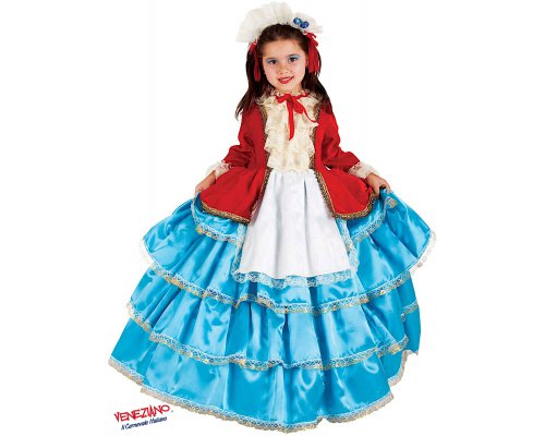 Costume carnevale - COLOMBINA BABY