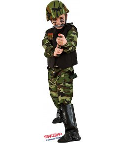 Costume carnevale - COMMANDO