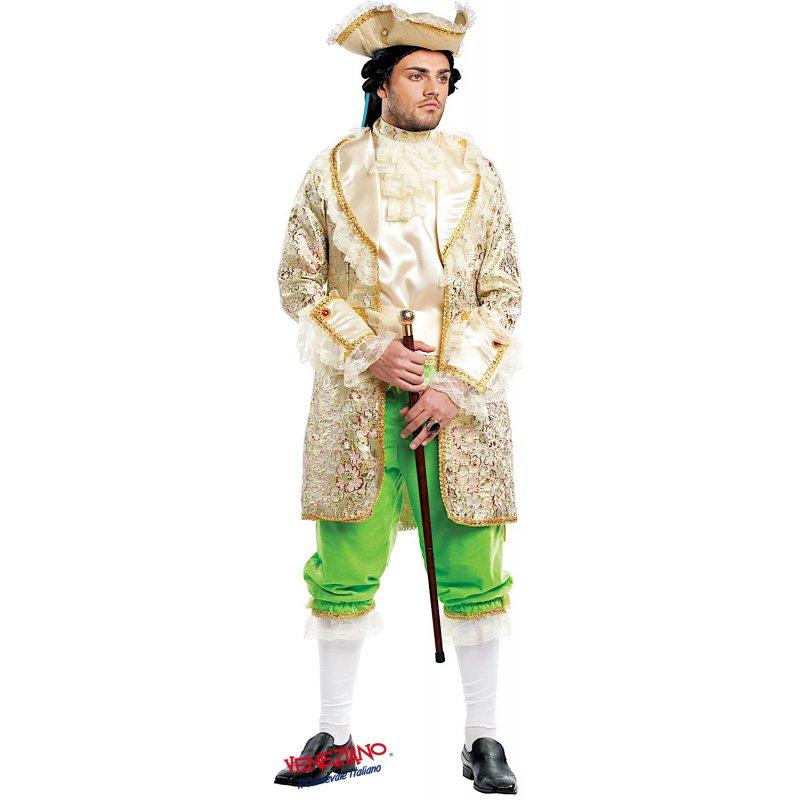 226deaf44500 Costumi di Carnevale CONTE DEL 700 DI FRANCIA 4487 - CarnevaleVeneziano