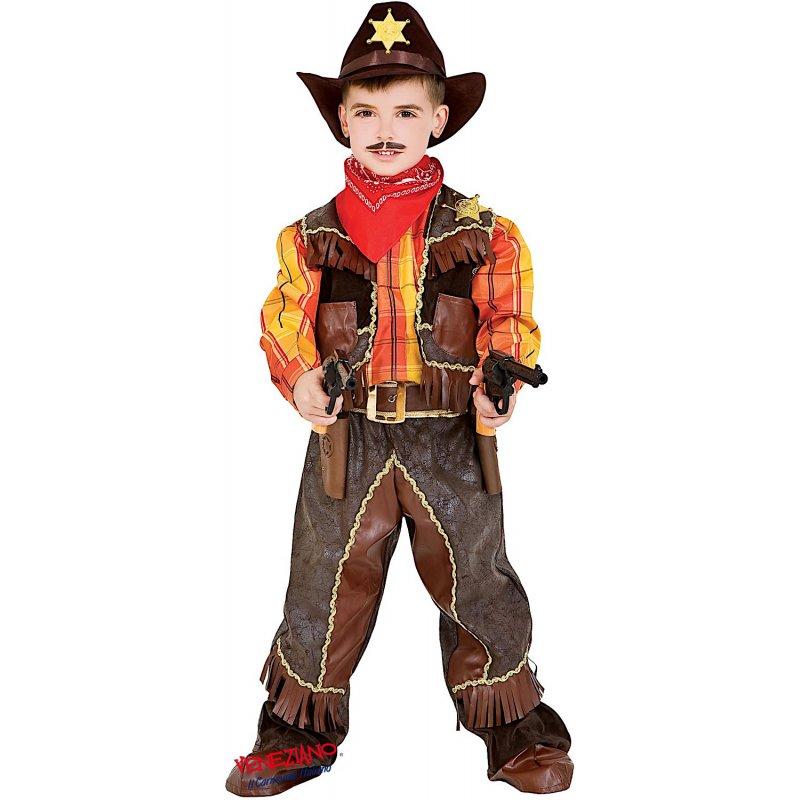 Buoni prezzi design professionale migliore vendita Costume di Carnevale COWBOY