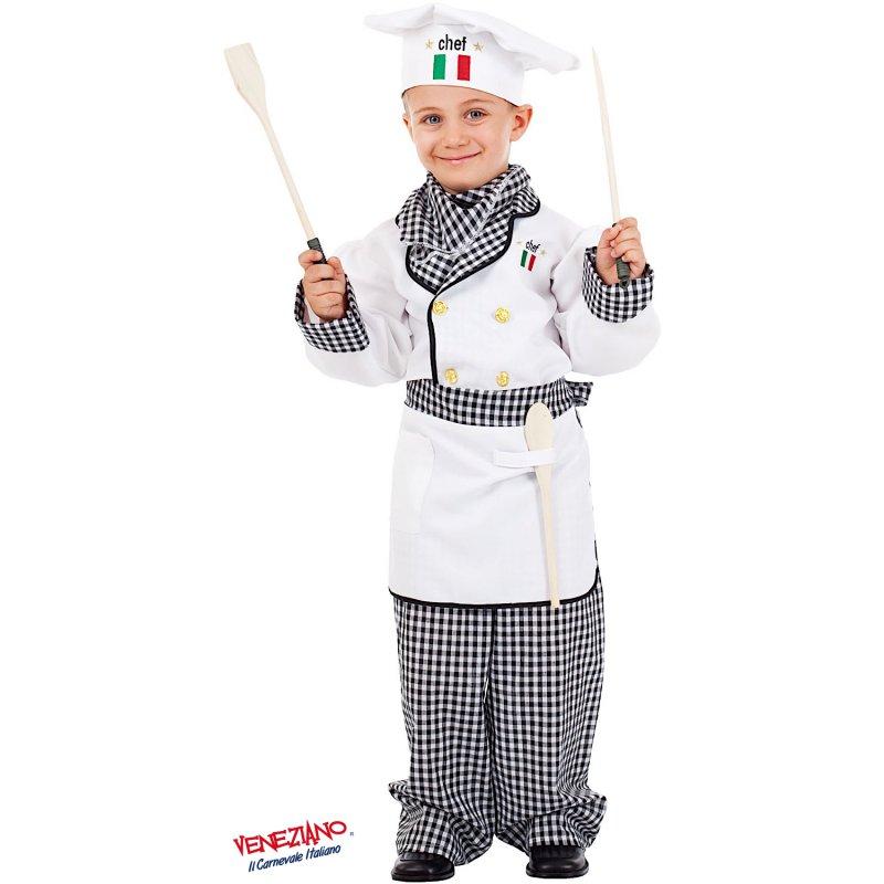 Costumi di Carnevale CUOCO BABY 5054 - CarnevaleVeneziano b67af8e53244