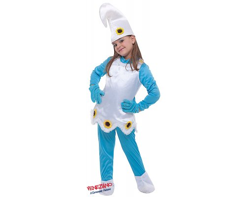 Costume di carnevale FOLLETTINA BLU
