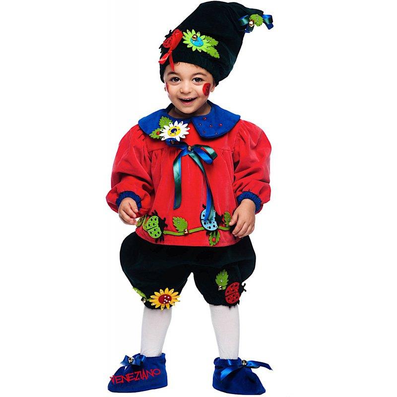 Costumi di Carnevale FOLLETTINO DEL BOSCO 50724 - CarnevaleVeneziano 5ac28d1cff61