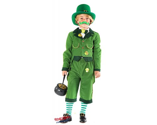 Costume di carnevale FOLLETTO IRLANDESE BABY