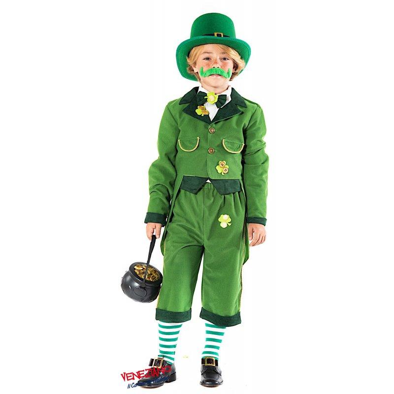 VERDE Collant Elfo Costume Natale adatto per maschi e una dimensione Donna