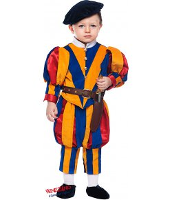 63f5346c02f5 GUARDIA SVIZZERA NEONATO. cod. 50699 Costumi Maschietto (0-3 Anni) Carnevale