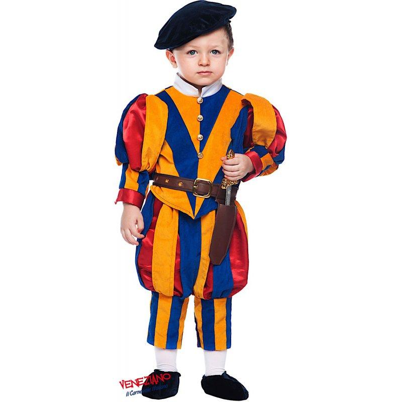 Costumi di Carnevale GUARDIA SVIZZERA NEONATO 50699 - CarnevaleVeneziano 94b8559f20f9