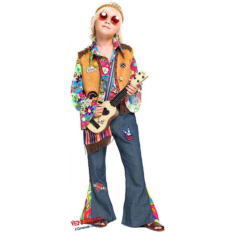 Costumi di Carnevale HIPPY BIMBO 52342 - CarnevaleVeneziano 8938064e6ec