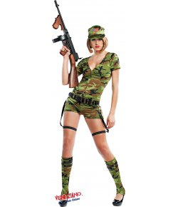 Costume di carnevale LADY COMMANDO
