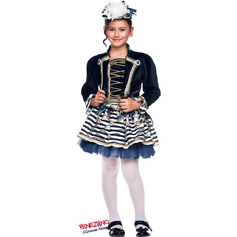 Costumi di Carnevale MARINARETTA BABY 50729 - CarnevaleVeneziano 2708a34ba15