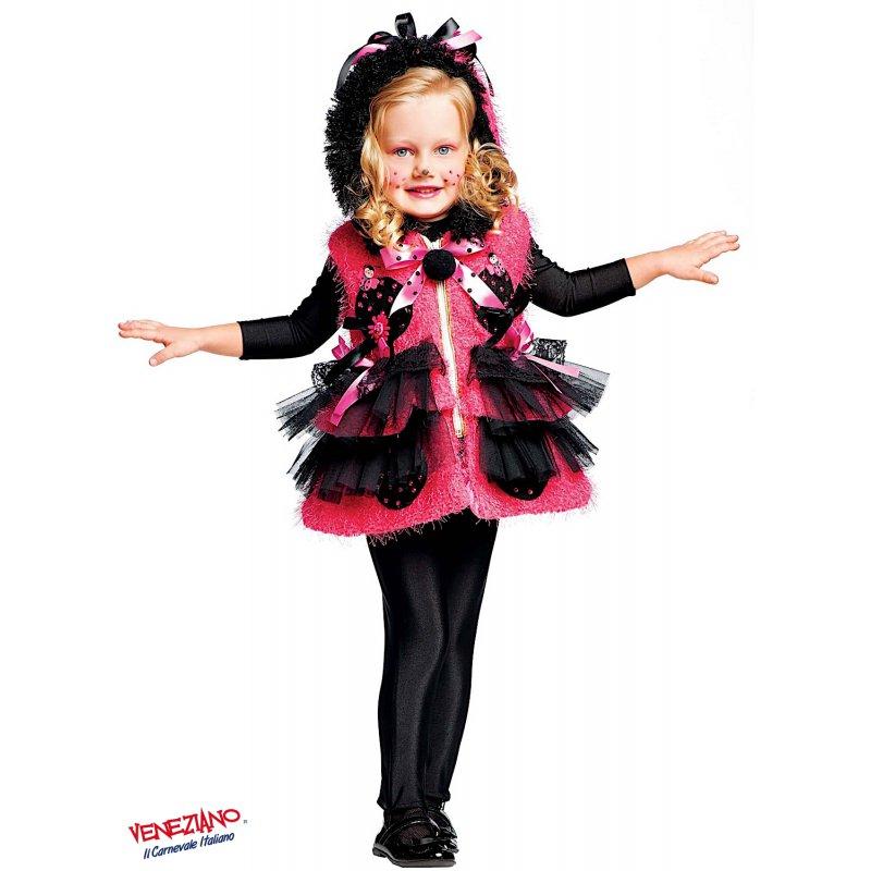 La migliore vendita del 2019 vendita online stile squisito Costume di Carnevale MISS COCCINELLA