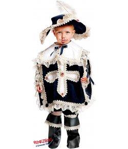 410305e4b9cd MOSCHETTIERE PRESTIGE NEONATO. cod. 50563 Costumi Maschietto (0-3 Anni)  Carnevale