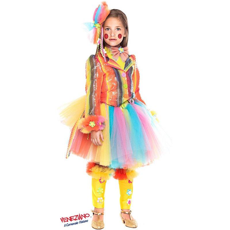 comprare on line nessuna tassa di vendita compra meglio Costume di Carnevale PAGLIACCETTA PRESTIGE RAGAZZA