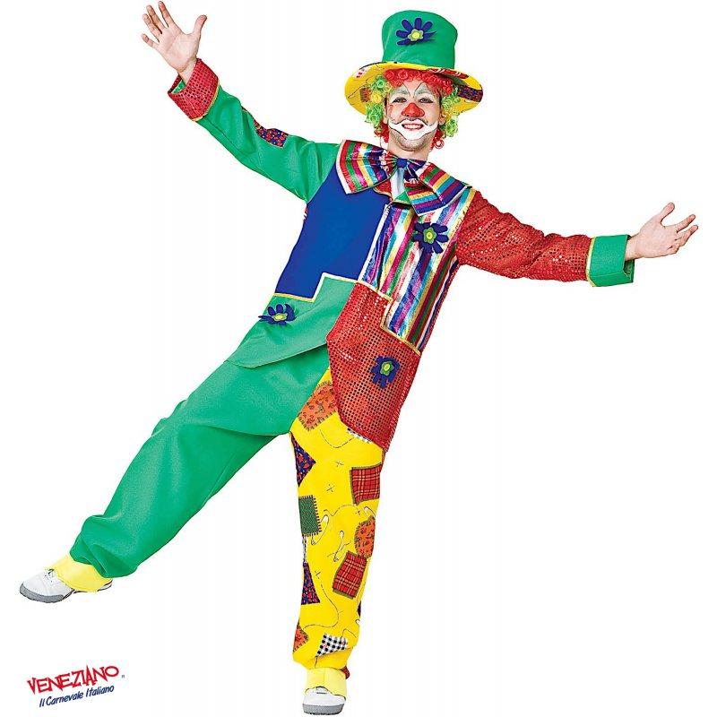 Costumi Di Carnevale Pagliaccio 4474 Carnevaleveneziano
