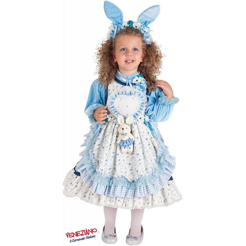 33ac4fca542a Costumi di Carnevale PICCOLA ALICE NEL PAESE DELLE FAVOLE 5101 ...