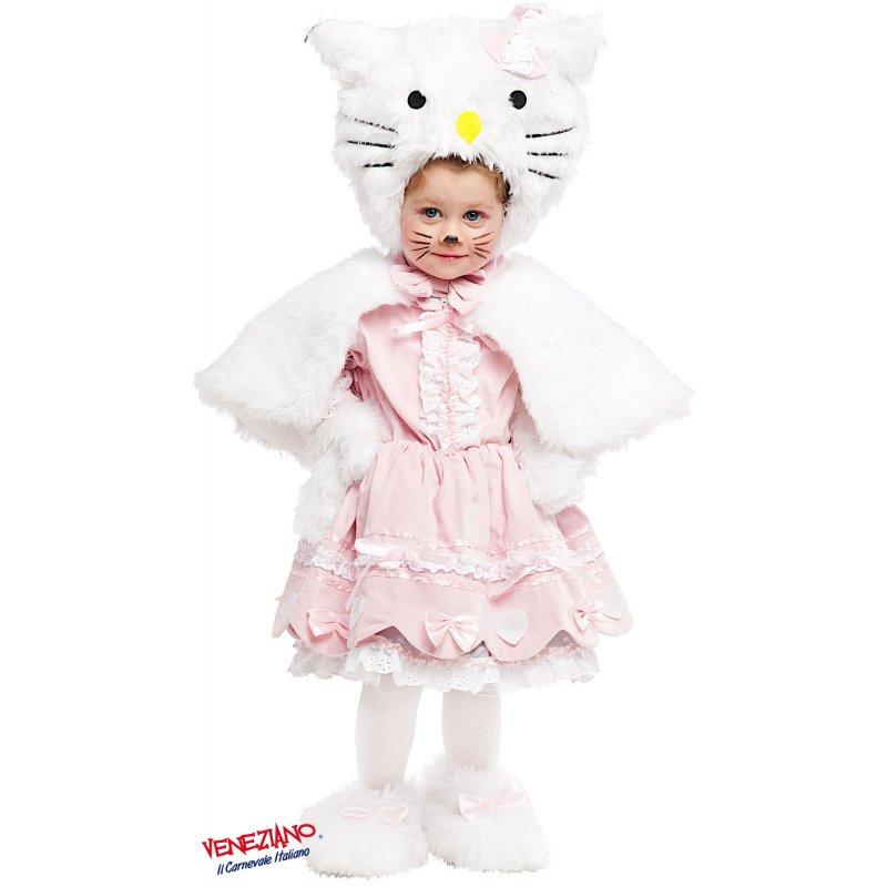 094674563fb1 Costumi di Carnevale PICCOLA GATTINA LUSSO 53162 - CarnevaleVeneziano