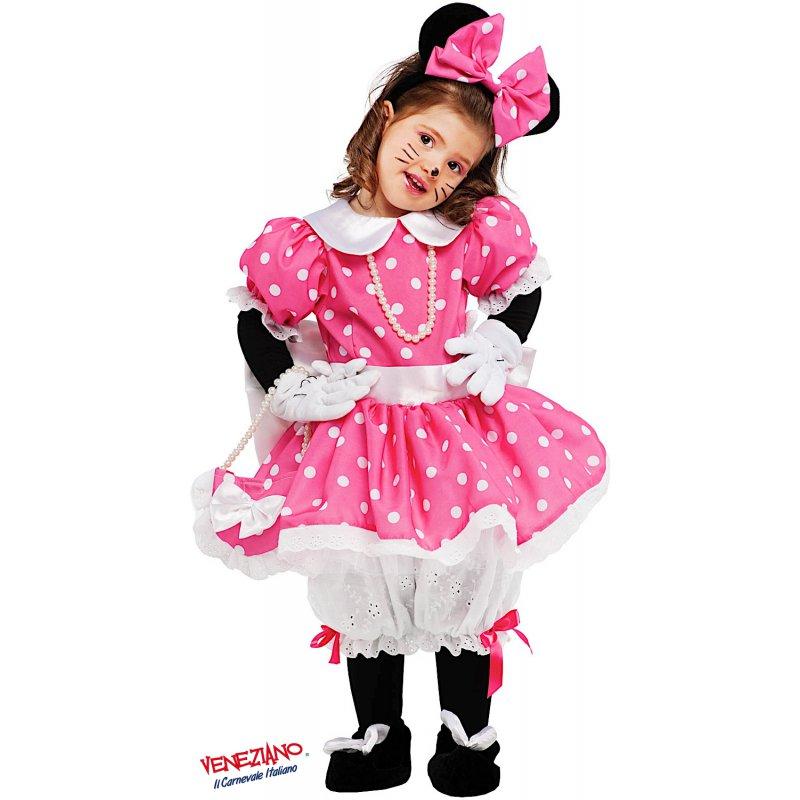 5f4ef4bfe539 Costumi di Carnevale PICCOLA TOPOLETTA LUSSO 53159 - CarnevaleVeneziano