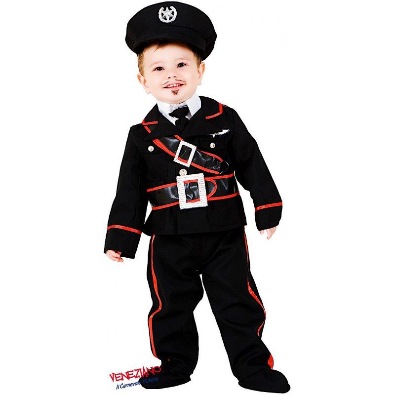 Vestito Carabiniere Bambino.Costumi Di Carnevale Piccolo Carabiniere 7705 Carnevaleveneziano