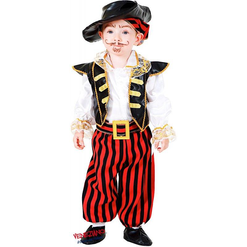 Cutthroat Pirata dei Caraibi Costume bambino kids boys MASCHIO miliardi