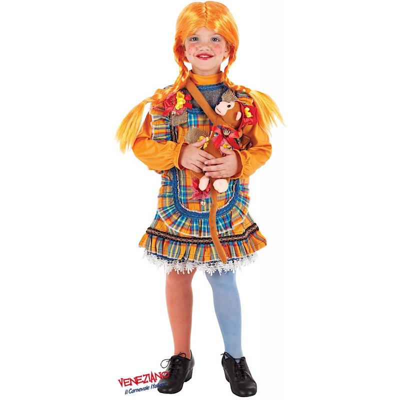 shop design popolare prodotti di qualità Costume di Carnevale PIPPI LUSSO