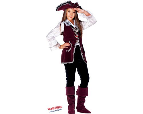 Costume di carnevale PIRATESSA BABY