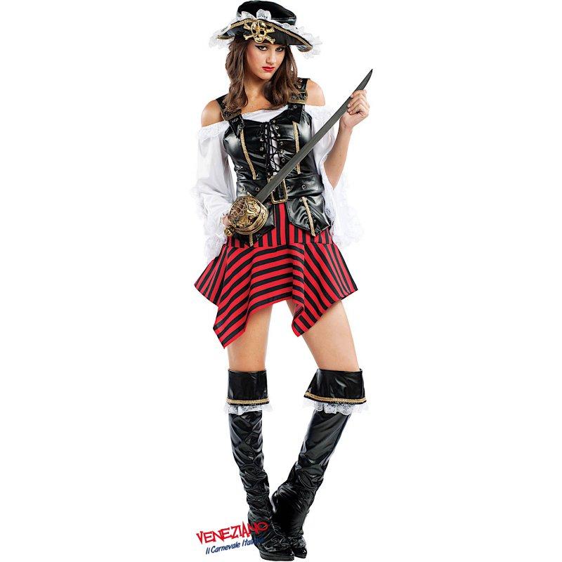 50-70% di sconto modellazione duratura vendita limitata Costume di Carnevale PIRATESSA DEI CARAIBI