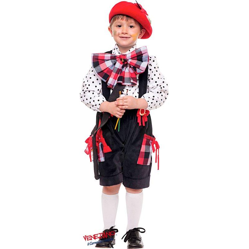 vari colori ufficiale più votato ultimo design Costume di Carnevale PITTORE PRESTIGE BABY
