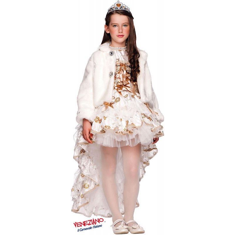 COSTUME di CARNEVALE da PRINCIPESSA DIOR 50727 vestito per ragazza bambina  7-10 Anni travestimento veneziano halloween cosplay festa party 245ee6e4dd5