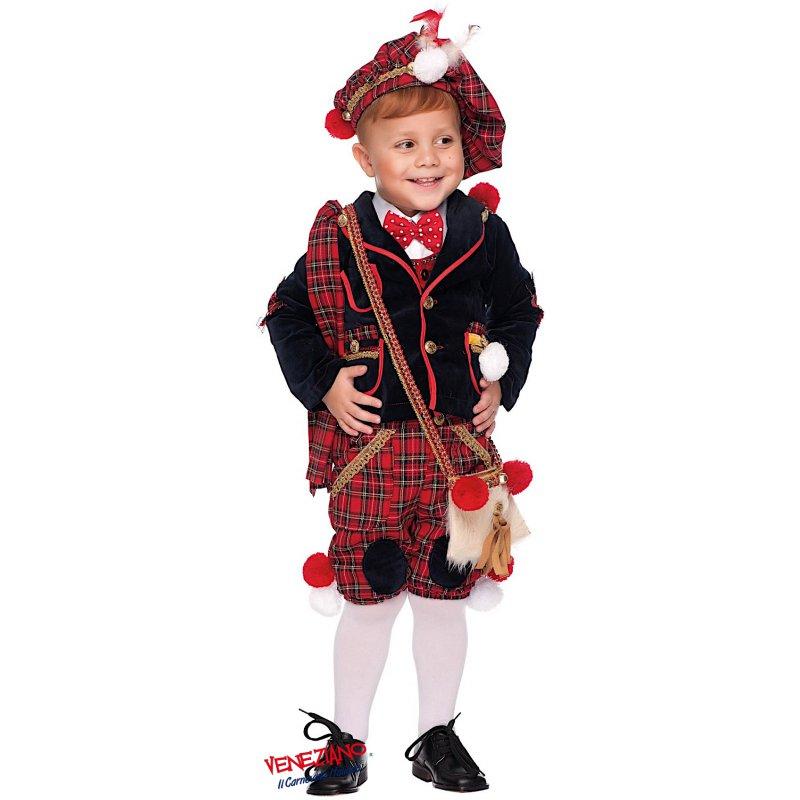 100% qualità grande liquidazione qualità stabile Costume di Carnevale SCOZZESE NEONATO