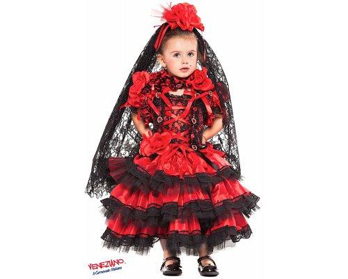 Costumi di Carnevale SPAGNOLA PRESTIGE NEONATA 28075 ... 505e90709529