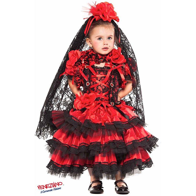 d66a1fe90d40 Costumi di Carnevale SPAGNOLA PRESTIGE NEONATA 28075 ...