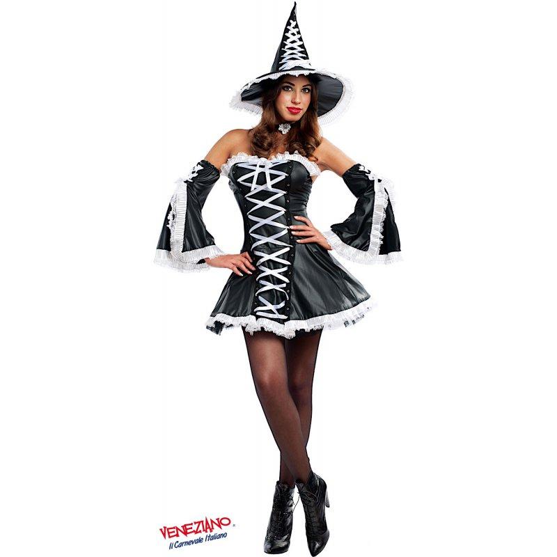 Vestiti Halloween Strega.Costume Di Carnevale Strega