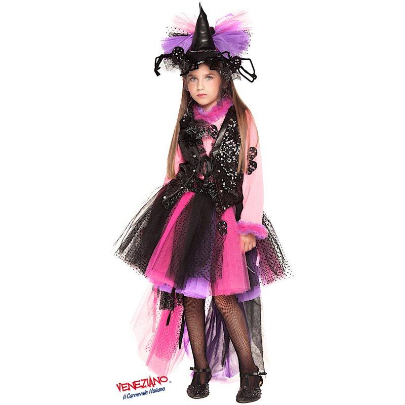 taglia 7 miglior grossista shop Dettagli su COSTUME di CARNEVALE da STREGHETTA PRESTIGE BABY 28032 vestito  per bambina ragaz