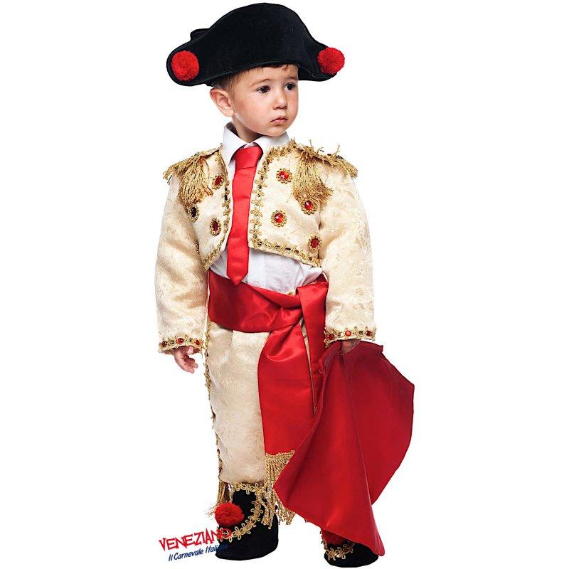 Costumi di Carnevale TORERO MANOLETE NEONATO 50710 - CarnevaleVeneziano 534dcd813db7