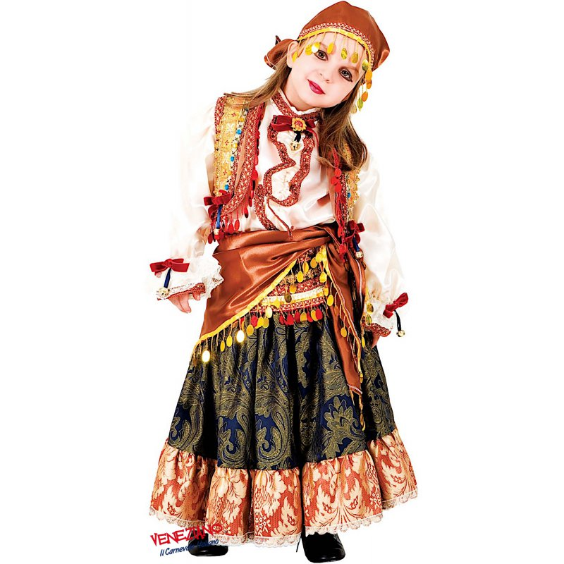 Costume di carnevale ZINGARA GITANA